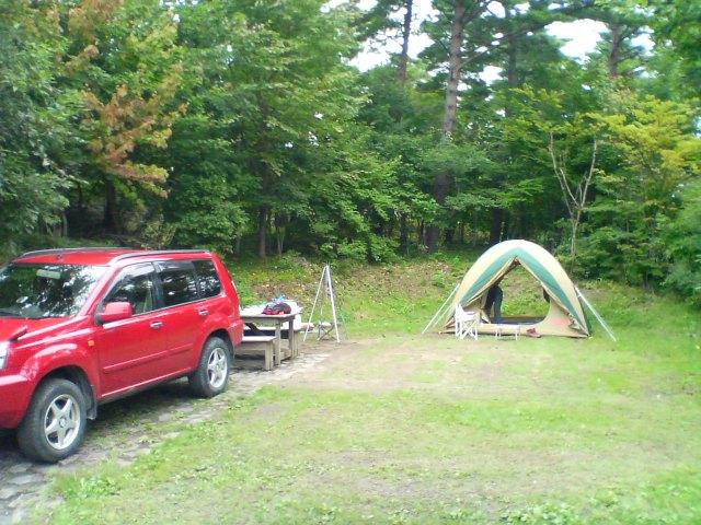 キャンプです